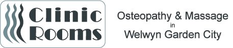 Clinic Rooms, Welwyn's local registered Osteopath Logo